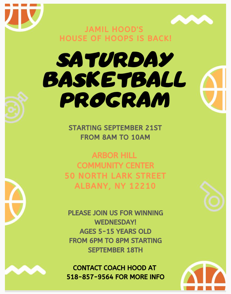 Saturday Basketball Program
